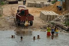 Amazon River (@Mark_Eveleigh) Tags: brazil america river amazon para south latin local bathing