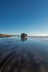 2016-01-10 - Peter Iredale Shipwreck-21 (www.bazpics.com) Tags: ocean sea usa beach water oregon america skeleton sand ship pacific or wave peter shipwreck frame hull wreck iredale