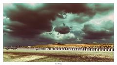 2016/04/01 (Photo Holica) Tags: light cloud storm beach nature netherlands rain clouds strand landscape sand exposure expression land explored
