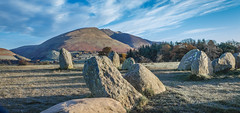 Sunrise over Castlerigg Stone Circle(18) (Walks in Dreams) Tags: england mountain mountains sunrise walking landscape ancient lakedistrict cumbria sacred mysterious stonecircle standingstone blencathra castleriggstonecircle kevincjpoole