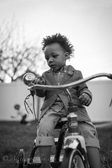 Boys & Bikes (Qwan718) Tags: light blackandwhite boys bike kids youth zeiss 35mm children prime natural bokeh tricycle sony 14 bikes tie bow blazer bikelife a7r