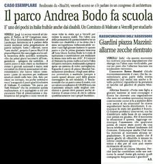 Notizia Oggi 25-04-2016 parco Andrea Bodo fa scuola (BIUD10onlus) Tags: parco andrea bodo fa scuola oggi notizia 25042016