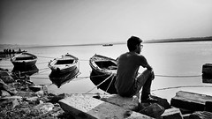 Assi Ghat Varanasi (Sharmagallery) Tags: india kashi banaras riverganga assighat earthasia