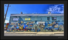 The Weird (the Gallopping Geezer 3.5 million + views....) Tags: signs building sign wall mi canon mural downtown michigan painted detroit structure signage hdr geezer 2016