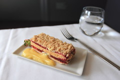 In-flight Meal - Singapore Airlines (A Sutanto) Tags: food plane airplane dessert inflight singapore class business airline meal service airlines sq sia