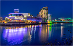 Quays Theatre (thenikonkid) Tags: reflections salfordquays thelowry manchestershipcanal quaystheatre