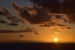Sunrise - two days out from Sydney (D70) Tags: from sea two coral sunrise sydney days route ms noordam noumea 99366