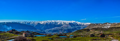 Laklouk Lakes, Lebanon (Paul Saad (( ON/OFF ))) Tags: blue sky lebanon mountain lake mountains water clouds landscape outdoor pano panoramic hdr jbeil qartaba laklouk kartaba