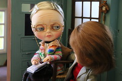 Conselhos da vov - 2 (MUSSE2009) Tags: toys doll grandmother blythe custom vinnie