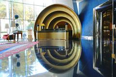 Concierge Desk, Burj Al Arab Hotel (lfeng1014) Tags: hotel dubai uae architect unitedarabemirates jumeirah burjalarabhotel   lifeng conciergedesk canon5dmarkiii 2470mmf28lii