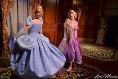 Rapunzel and Cinderella (disneylori) Tags: princess disney disneyworld characters cinderella wdw waltdisneyworld rapunzel magickingdom fantasyland tangled disneyprincess disneycharacters facecharacters meetandgreetcharacters princessfairytalehall