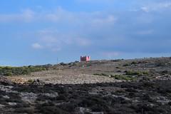 The Red Tower (lauramramrodr) Tags: sunset sea seascape beach skyscape bay paradise malta melita
