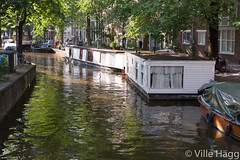 Zig Zag Houseboat (villeah) Tags: netherlands amsterdam canal thenetherlands houseboat nl northholland