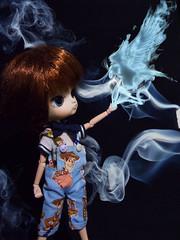 Expecto Patronum (♥gik@h) Tags: blue dan magic harry potter fashiondoll daldoll patronum