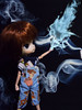 Expecto Patronum (♥gik@h) Tags: blue dan magic harry potter fashiondoll daldoll patronum