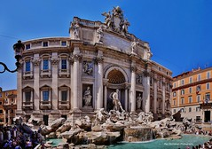 trevi fountain rome italy (Rex Montalban Photography) Tags: italy rome europe trevifountain stitchedpanorama rexmontalbanphotography