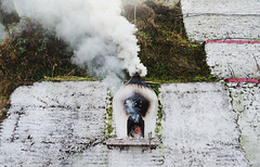 [335] - pray & burn (jathdreams) Tags: travel winter mountains architecture vintage outside nikon outdoor rustic wanderlust monastery darjeeling hillstation northeastindia incredibleindia ghoommonastery nikond5100