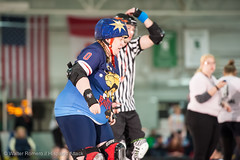 CNYRD_Wonder_Brawlers_vs_South_Shire_Battle_Cats_34_20160402 (Hispanic Attack) Tags: rollerderby battlecats srd cnyrd centralnewyorkrollerderby southshirerollerderby