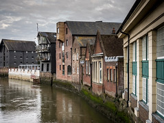 101/366 River Ouse, Lewes - 366 Project 2 - 2016 (dorsetpeach) Tags: storm river warehouse 365 ouse eastsussex lewes riverouse 2016 366 aphotoadayforayear 366project second365project