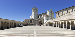 Assisi (Sergey-Aleshchenko) Tags: italy panorama church nikon italia assisi d800
