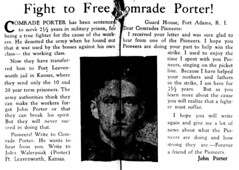 Labor leader John Porter sentenced to military prison: 1928 (washington_area_spark) Tags: new party john bedford march dc washington war labor union rally protest young ct communist textile strike nicaragua 1928 porter comrade picket augusto sandino