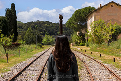 Binari (Obiettivo Leonch) Tags: sardegna sardinia treno ferrovia binari isili