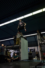 Double Gainer (LukeStonesPhotos) Tags: jump movement move flip freerunning parkour gainer crashmat 4tlom