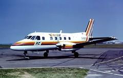 G-BGCS EMB110 Air Commuter CVT 01-06-1982 (cvtperson) Tags: air commuter coventry emb110 embraer cvt bandeirante egbe genair gbgcs