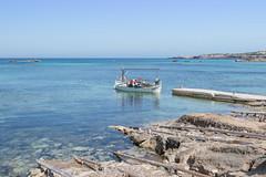 Llaut a Es Pujols. (Sa Talaia des Roman) Tags: costa mar eivissa formentera pitises llat espujols casetavarador