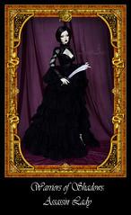 Assassin Lady (AyuAna) Tags: set ball design clothing doll dress handmade ooak style clothes fantasy historical bjd dollfie jointed ayuana