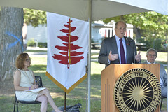 NR15DougGlobVillGroundbrk8551 (drccommunity) Tags: newjersey president dean douglass newbrunswick podium