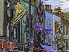 fachadas en Canden Town (Londres) (joluardi) Tags: uk inglaterra england london unitedkingdom camden camdenmarket londres gb camdentown reinounido