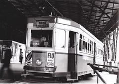 Remembering Sydney's Trams - R1 class 1964 on the Railway Colonnade (john cowper) Tags: sydney newsouthwales trams 1964 lastdays pittstreet castlereaghstreet centralrailway sydneytrams r1class railwaycolonnade