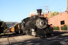 Durango and Silverton RR (rjgabor) Tags: railroad colorado track silverton engine trains steam locomotive durango