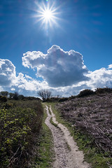 Sunshine - DSCF8155 (s0ulsurfing) Tags: cloud sun nature sunshine fuji natural april fujifilm rays isle wight 2016 s0ulsurfing xt1
