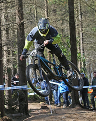 02 MTB SCDH 16 Apr 2016 (32) (Kate Mate 111) Tags: uk mountain bike forest cycling crash sheffield yorkshire steve competition racing downhill peat riding mtb mountainbiking grenoside