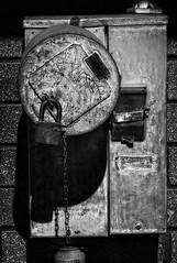 Secret Meter (arbyreed) Tags: bw lock meter padlock powermeter arbyreed