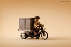 Tricycle (kosbrick) Tags: china city classic vintage indonesia town lego tricycle chinese newyear moc
