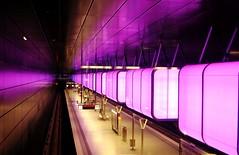 Pink und Gestreift (   flickrsprotte  ) Tags: pink hamburg ubahn hafencity gestreift 52wochenchallenge