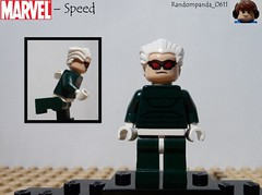 Speed (Random_Panda) Tags: comics book comic lego fig character books super hero figure superhero characters heroes minifig minifigs superheroes marvel figures figs minifigure minifigures