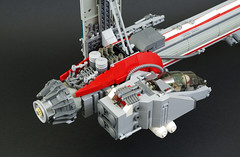 Apogee (rmx  3rd round) (02) (F@bz) Tags: sf lego space remix spaceship rmx moc starfighter