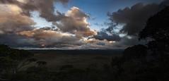 Sunset, Vale of Belvoir. Tasmania (Steven Penton) Tags: park mountain lake stclair australia vale national tasmania cradle belvoir