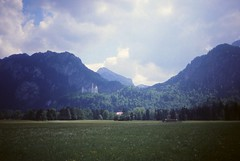 West Germany   -   Neuschwanstein   -   May 1989 (Ladycliff) Tags: neuschwanstein westgermany
