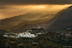 Amanecer en Canjayar, Almeria (dleiva) Tags: sky cloud storm building field horizontal wall rural photography hope dawn design spain day mood pattern dramatic overcast scene safety colored spirituality rough andalusia protection domingo almeria sunbeam atmospheric multi feature scenics sunraise leiva canjayar dleiva