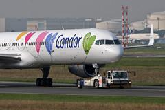 Condor Boeing 757-330 D-ABON (Kambui) Tags: germany airplane deutschland colorful airplanes special planes condor aviones avions flugzeuge  avies paintschemes aeroplani kambui  sonderbemalung