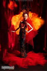 Week 12: Portraying Agni, The God of Fire: Grace (Leochris91) Tags: agni indonesiassupermodel riselikaaphoenix firefashionphotography agnithegodoffire