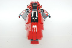 AG Systems SPEED (qu) Tags: red game scale speed video model fighter ship lego systems racing replica creation gravity ag wipeout scifi anti futuristic racer moc 2048 airbrakes psvita