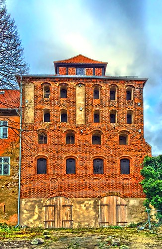 Old Dockside Warehouse Stralsund