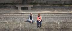 Paris 2015 - Bord de Seine (www.darnoc.fr) Tags: paris seine photoshop canon eos capital 70300mm ville gens fleuve lightroom 6d 70300 lesgens ef70300mmf456isusm eos6d
