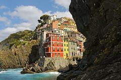 Riomaggiore  (lorenzogabbiani) Tags: travel canon souvenir cinqueterre riomaggiore